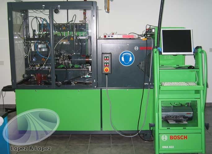 Lopez y lopez servicio oficial bosch diesel center for Bosch malaga